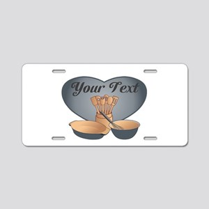 Cook or Chef Personalized G Aluminum License Plate