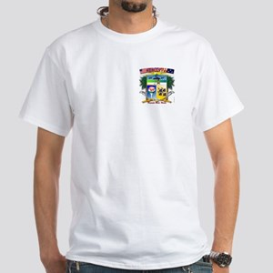 Pensacola Beach City Hall Bea White T-Shirt