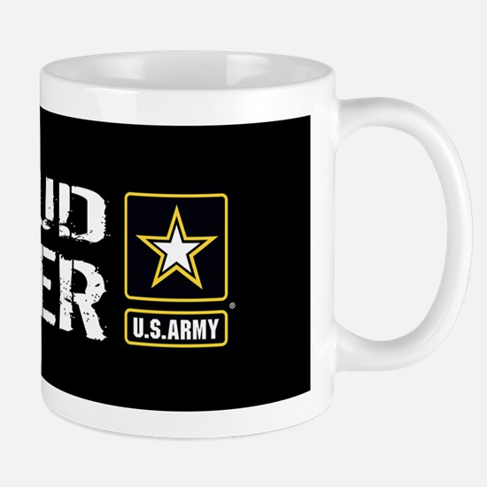U.S. Army: Proud Sister (Black) Mug