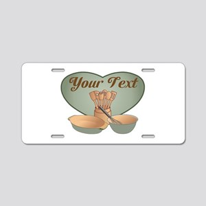 Cook or Chef Personalized S Aluminum License Plate