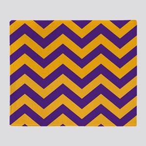 Purple And Gold Blankets Cafepress