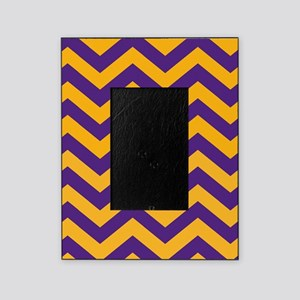 Gold Chevron Picture Frames Cafepress