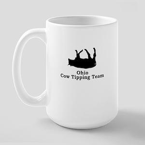 Ohio Cow Tipping Large Mug