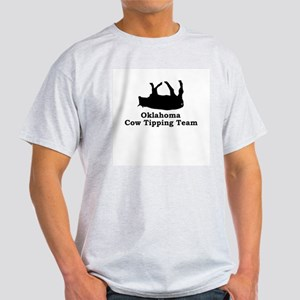 Oklahoma Cow Tipping Light T-Shirt