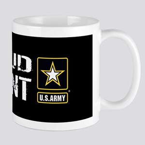 U.S. Army: Proud Parent (Black) Mug
