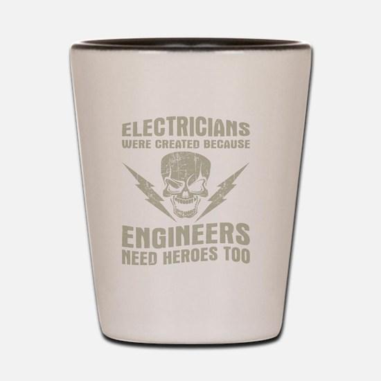 Electrical engineer Shot Glass