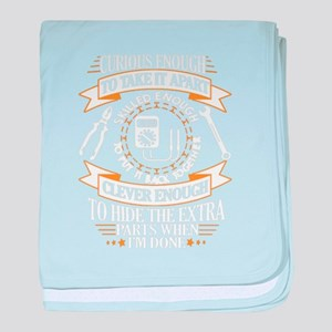 Electrician baby blanket