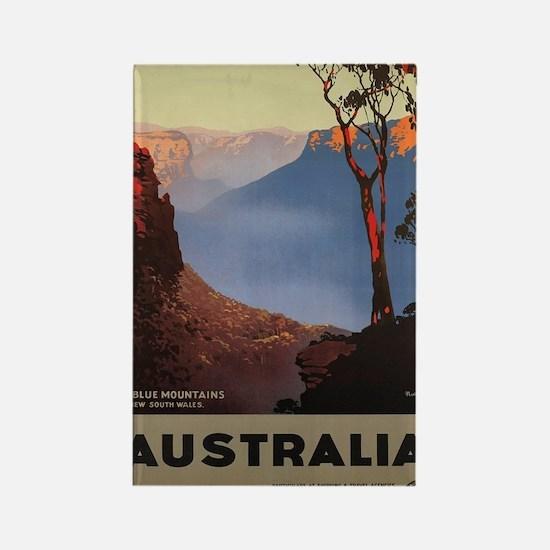 Funny Australian Rectangle Magnet