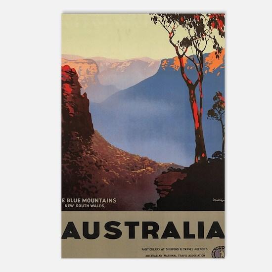 Cute Australian Postcards (Package of 8)
