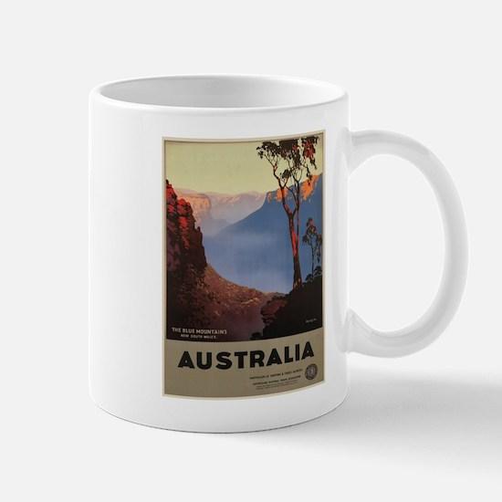 Vintage poster - Australia Mugs