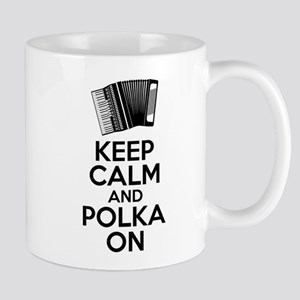 Keep Calm And Polka On Mugs