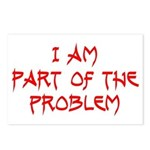 Part Of The Problem Postcards (Package of 8)
