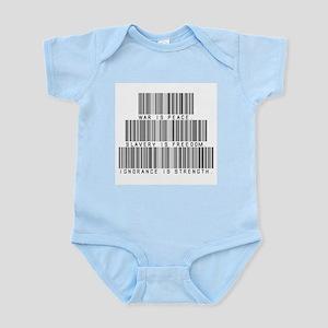 War is peace Infant Bodysuit