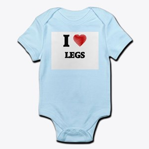 I Love Legs Body Suit