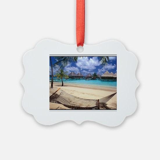 Cute Seychelles Ornament