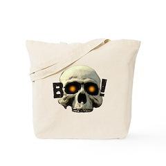Boo Skull Tote Bag