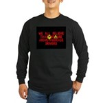 Above-Average Drivers Long Sleeve Dark T-Shirt