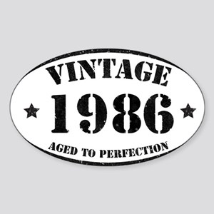 Vintage Aged to Perfection 1986 Sticker