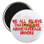 Above-Average Drivers Magnet