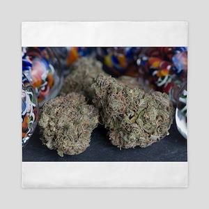 Granddaddy Purple Medical Marijuana Queen Duvet