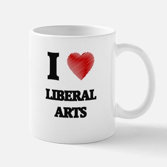 I Love Liberal Arts Mugs