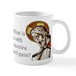 11 Oz Ceramic Mug Mugs America And Guns?