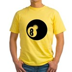 Eight Ball Yellow T-Shirt