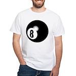 Eight Ball White T-Shirt
