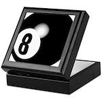 Eight Ball Keepsake Box