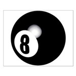 Eight Ball Small Poster