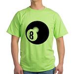 Eight Ball Green T-Shirt
