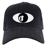 Eight Ball Black Cap