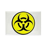 Biohazard Rectangle Magnet (10 pack)
