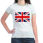 Union Jack Jr. Ringer T-Shirt