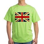 Union Jack Green T-Shirt