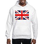 Union Jack Hooded Sweatshirt