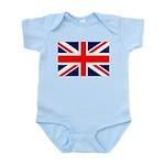 Union Jack Infant Bodysuit