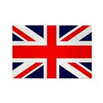 Union Jack Rectangle Magnet (100 pack)