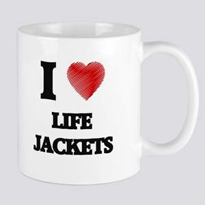 I Love Life Jackets Mugs