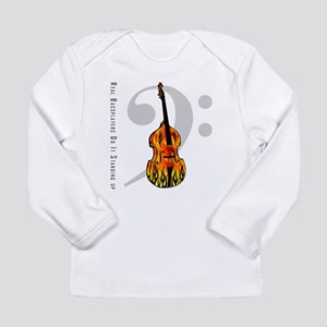 Real Bass Players Do It Stand Long Sleeve T-Shirt