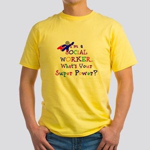 Social Worker Super Power T-Shirt