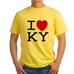I heart KY Yellow T-Shirt