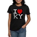 I heart KY Women's Dark T-Shirt