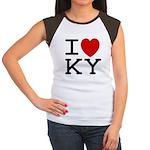 I heart KY Women's Cap Sleeve T-Shirt