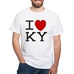 I heart KY White T-Shirt