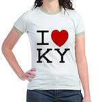 I heart KY Jr. Ringer T-Shirt