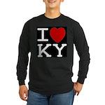 I heart KY Long Sleeve Dark T-Shirt