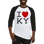 I heart KY Baseball Jersey