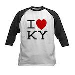 I heart KY Kids Baseball Jersey