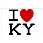 I heart KY Large Poster